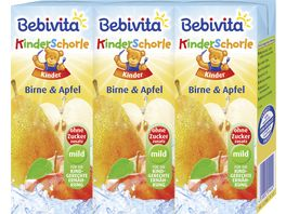 Bebivita Kinder Schorle Birne Apfel