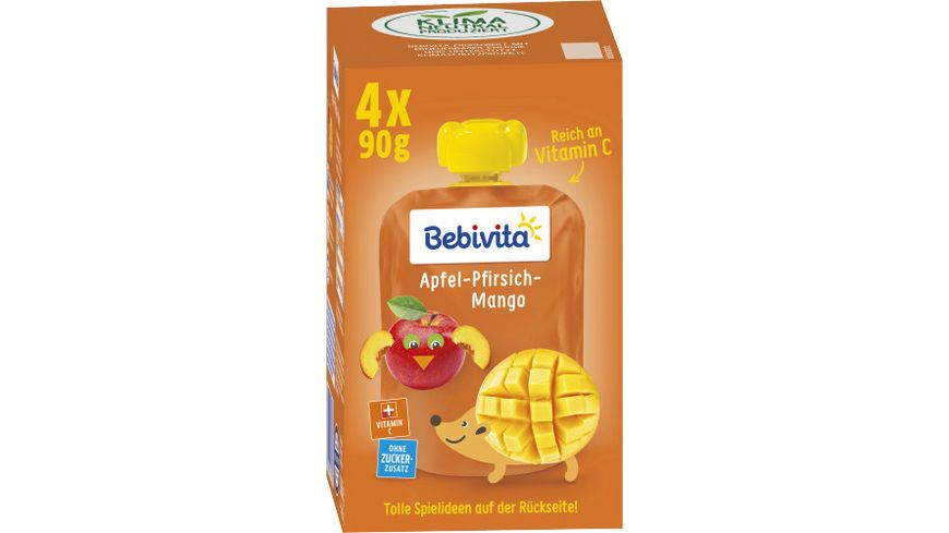Bebivita Kinder Spass Apfel Pfirsich Mango