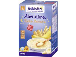 Bebivita Abendbrei Abendbrei Keks Banane ohne Zuckerzusatz ab 5 Monat