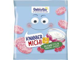 Bebivita Knabber mich Reiswaffeln Himbeere Joghurt