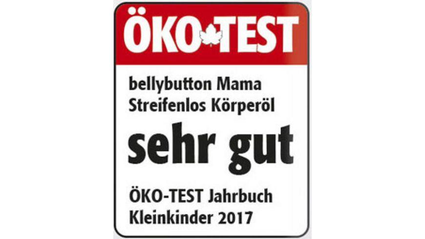 Bellybutton Mama Streifenlos Koerperoel