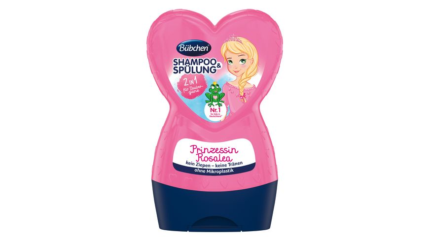 Buebchen Shampoo Spuelung Prinzessin Rosalea