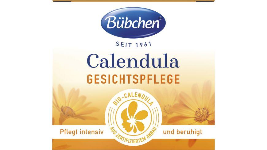 Buebchen Calendula Gesichtspflege