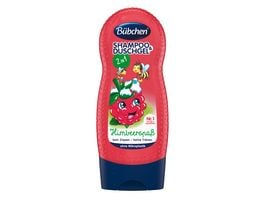 BUeBCHEN Shampoo Shower Himbaerspass