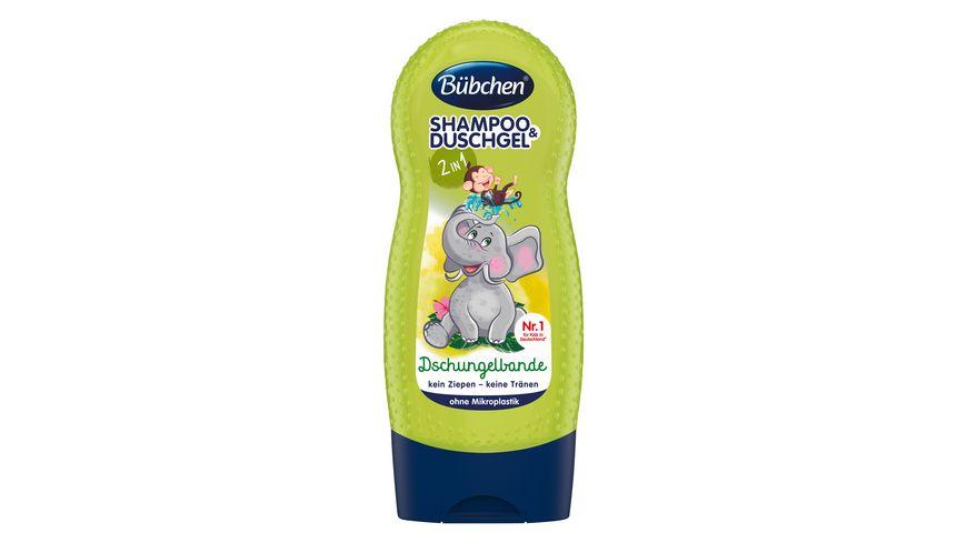 Bübchen Shampoo & Duschgel Dschungelbande