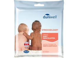Duniwell Einmal Baby Waschlappen