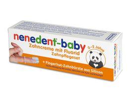 nenedent Erstes Zaehnchen Baby Zahncreme mit Fingerling