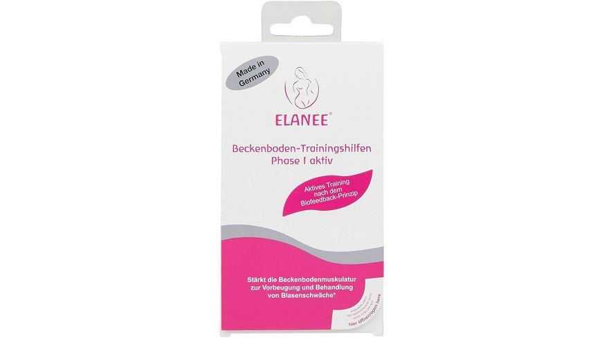 ELANEE Beckenboden-Trainingshilfen Phase I aktiv