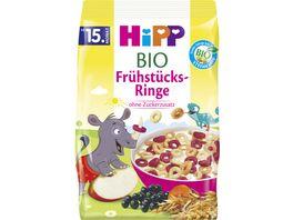 HiPP Bio Mueesli 135 g BIO Fruehstuecks Ringe ohne Zuckerzusatz ab 15 Monat