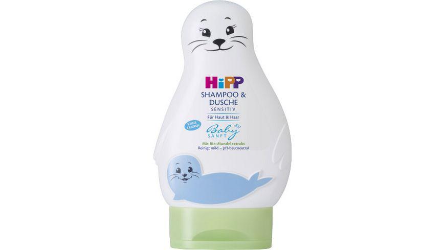 HiPP Babysanft Shampoo Dusche