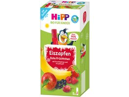 HiPP Bio Eis Zapfen Rote Bio Fruechtchen