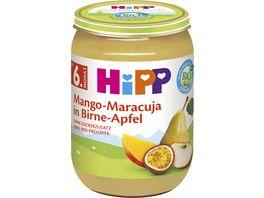 HiPP Bio Fruechte Mango Maracuja in Birne Apfel ohne Zuckerzusatz 100 Bio Fruechte 190g