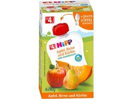 HiPP BIO Frucht und Gemuesepueree Apfel Birne Kuerbis