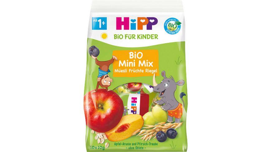 HiPP Bio Mini Mix Müesli Früchte Riegel