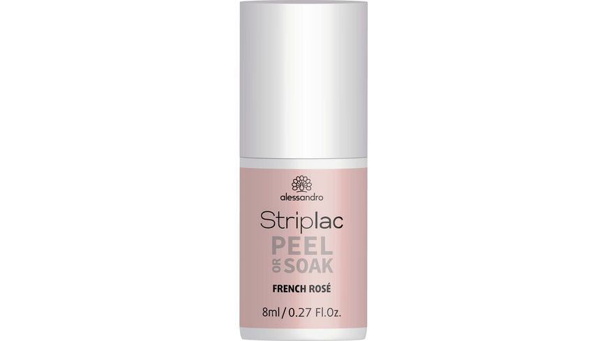 alessandro Striplac Peel or Soak French Rosa