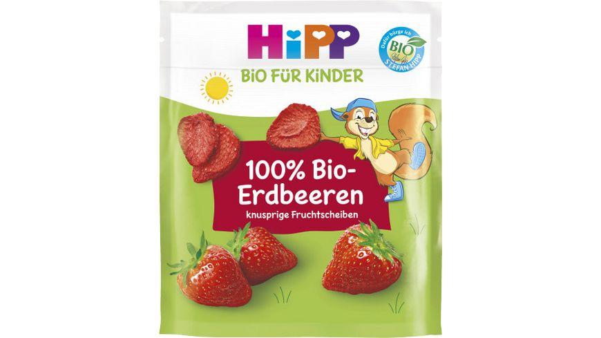 HiPP Bio-Erdbeerscheiben