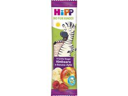HiPP Bio Riegel Fruechte Freund 23g Himbeere in Banane Apfel Suesse nur aus Fruechten ab 1