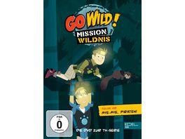 Go Wild Mission Wildnis Folge 28 Aye Aye Piraten Die DVD zur TV Serie