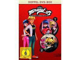 Miraculous 9 10 Geschichten von Ladybug und Cat Noir Die DVD zur TV Serie 2 DVDs