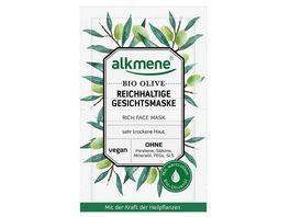 alkmene Reichhaltige Gesichtsmaske Bio Olive