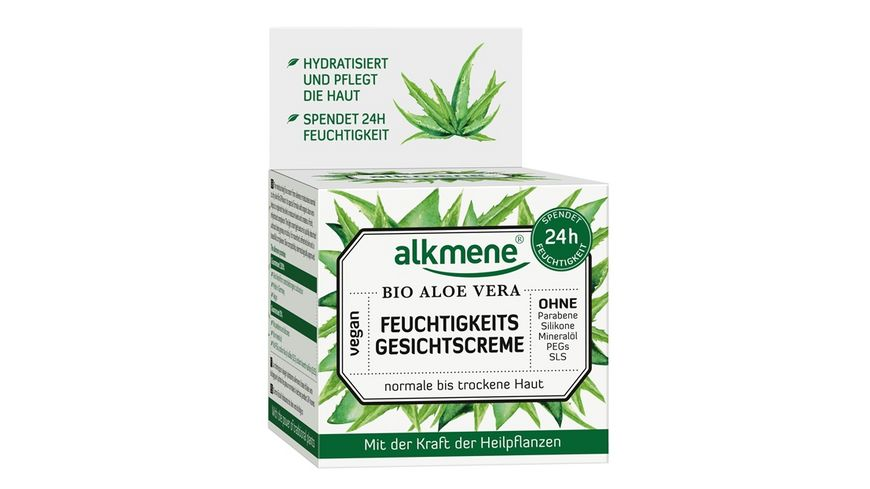 alkmene Feuchtigkeits Gesichtscreme Bio Aloe Vera