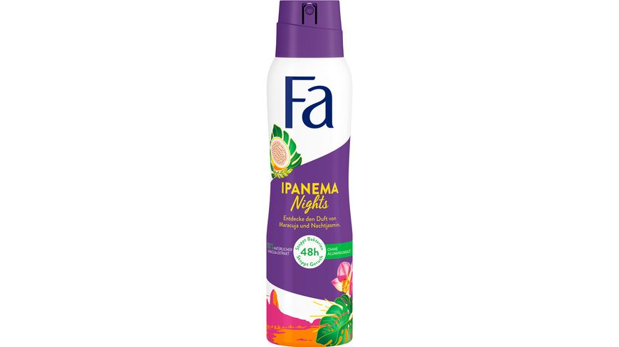 Fa Deospray Brazilian Vibes Ipanema Nights