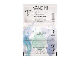 VANDINI MOISTURIZING 3 Step Maske