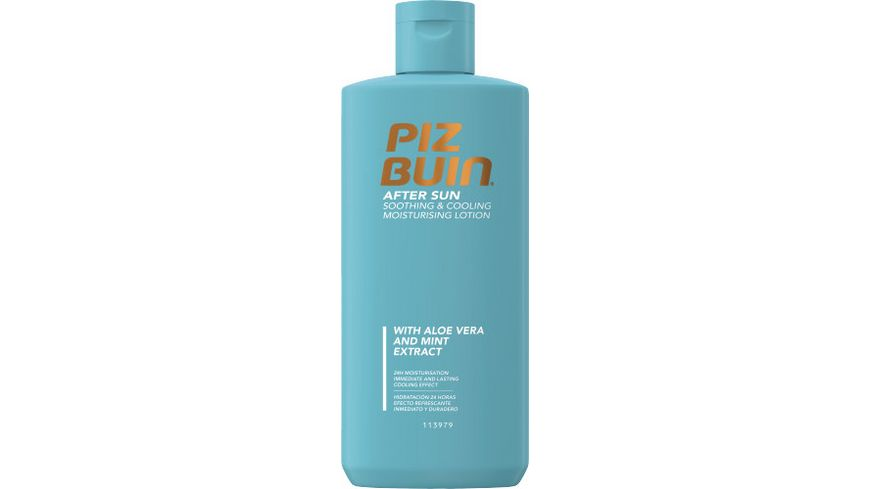 Piz Buin After Sun Soothing Cooling Moisturising Lotion