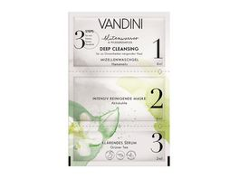 VANDINI DEEP CLEANSING 3 Step Maske