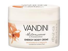VANDINI ENERGY Body Creme Orangenbluete Babassuoel