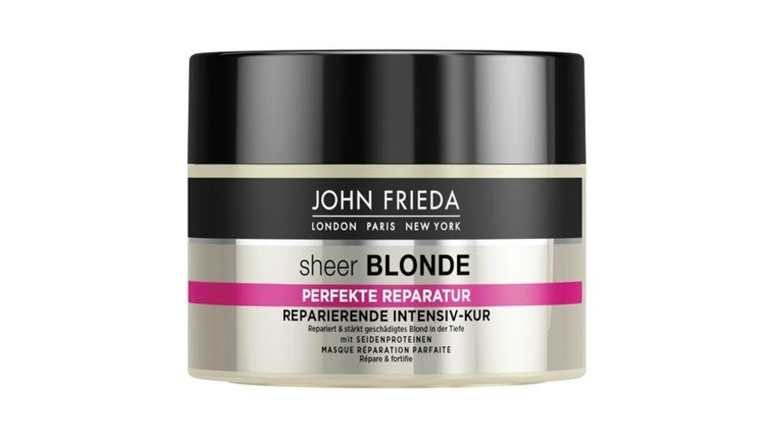 JOHN FRIEDA sheer BLONDE Perfekte Reparatur Intensiv Kur