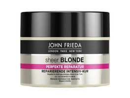 JOHN FRIEDA sheer BLONDE Perfekte Reparatur Intensiv Kur