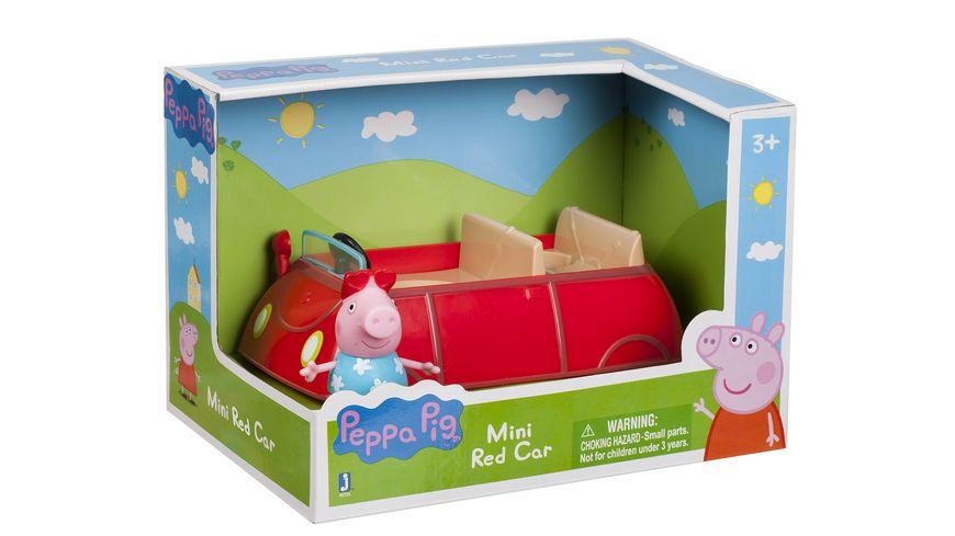 Jazwares Peppa Pig Peppa s kleines rotes Auto