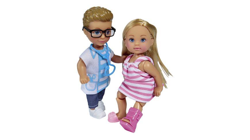 Simba Evi Love Evi und Timmy als Doktor