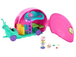 Mattel Enchantimals Schneckentempo Camper