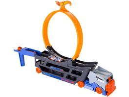 Mattel Hot Wheels Stunt N Go Transporter Trackset