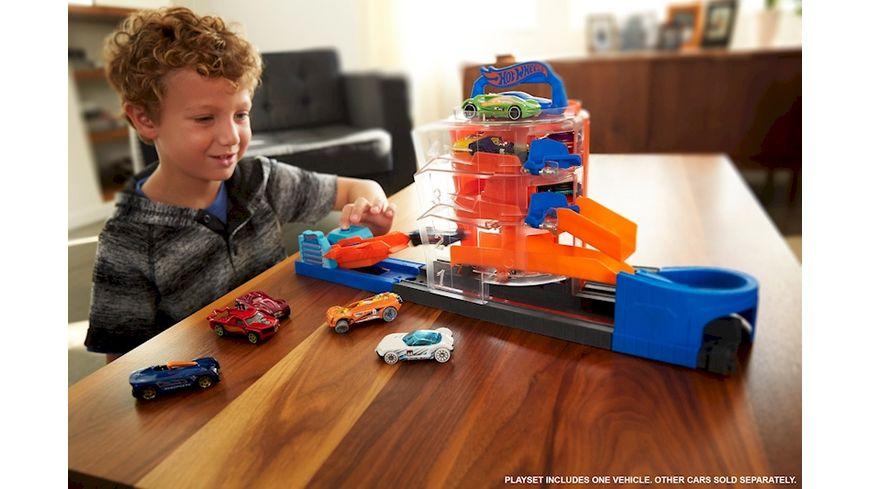 Mattel Hot Wheels City Super Spin Parkhaus