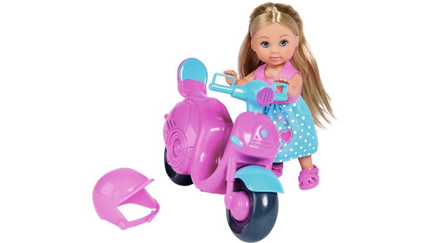 Simba Evi Love Evi mit Motorroller