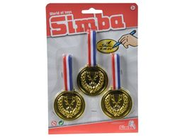 Simba Drei Medallien