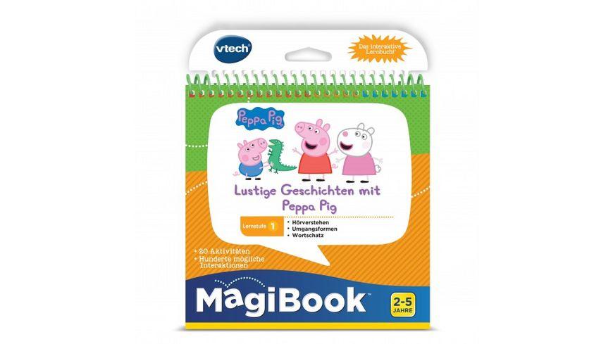 VTech MagiBook Lernstufe 1 Lustige Geschichten mit Peppa Pig 3D