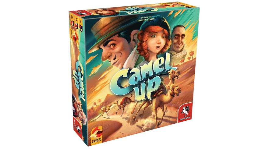 Eggert Spiele Camel Up 2nd Edition