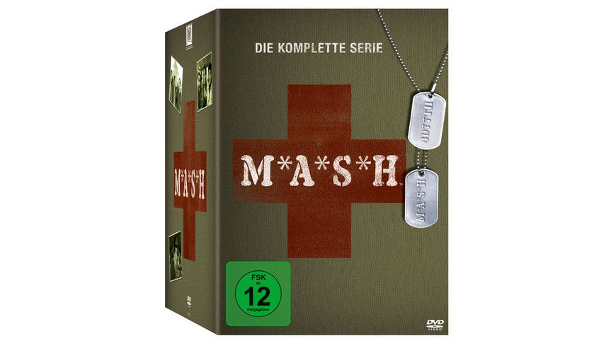 MASH Complete Box 33 DVDs