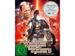 Knightriders Ritter auf heissen Oefen George A Romero Mediabook 2 BRs 1 DVD