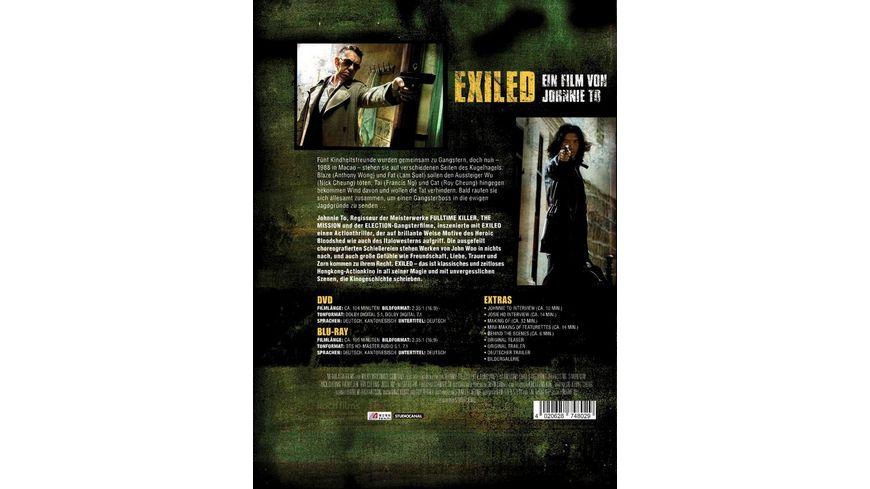 Exiled Mediabook DVD