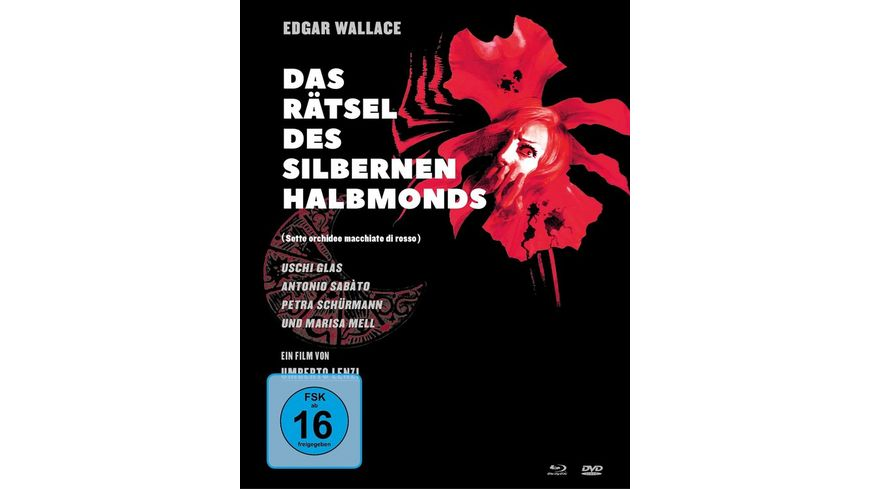 Edgar Wallace Das Raetsel des silbernen Halbmonds Mediabook 1 Blu ray 2 DVDs