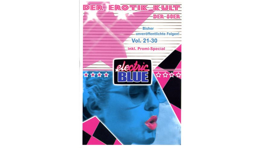 Electric Blue Vol 21 30 Box 5 DVDs