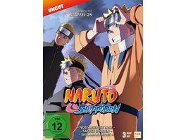 Naruto Shippuden Staffel 25 Folgen 700 713 3 DVDs