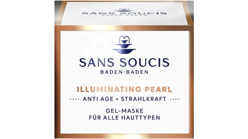 SANS SOUCIS Illuminating Pearl Gel Maske