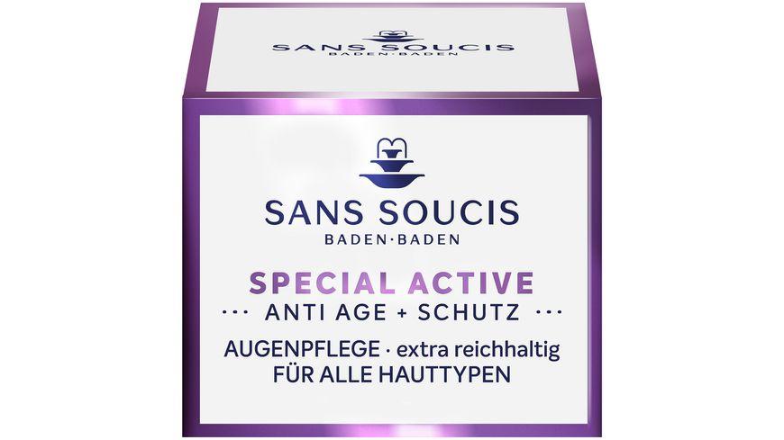 SANS SOUCIS Special Activ Anti Age Schutz Augenpflege extra reichhaltig