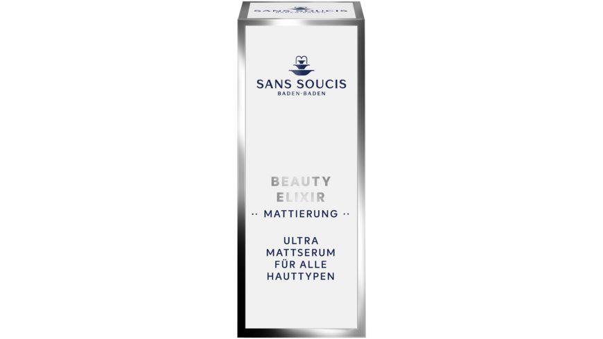 SANS SOUCIS Beauty Elixir Mattierung Ultra Mattserum